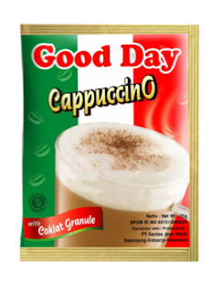 Ulasan Good Day Cappucino Original Coffe