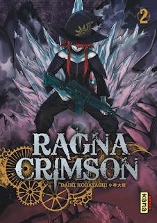 Ragna Crimson tome 2 un manga shonen des éditions Kana