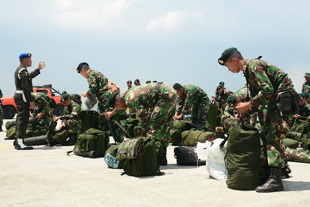 Satgas Tinombala TNI