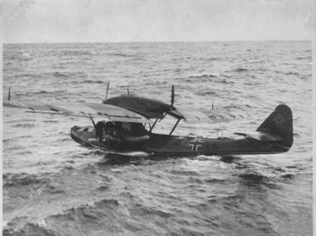 Dornier Do-18 search-and-rescue plane during World War II worldwartwo.filminspector.com