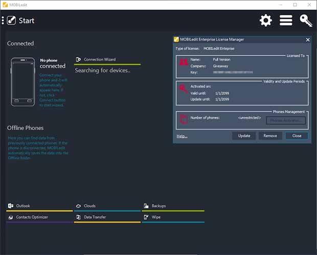 تحميل برنامج قوي ومتكامل لإدارة الهاتف MOBILedit Enterprise 10.1.0.25711