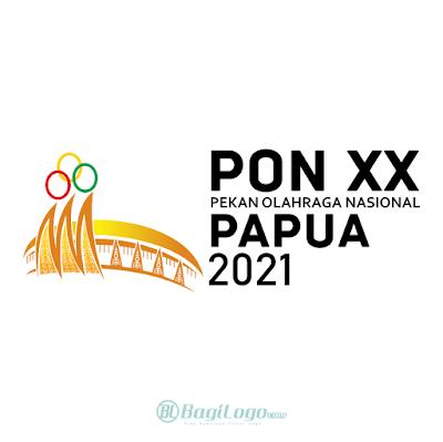 PON XX Papua 2021 Logo Vector