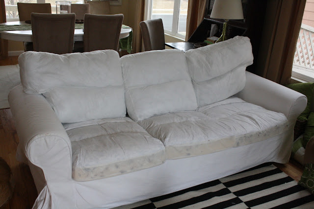 How To Replace Sofa Cushion Covers Lee Furniture Washing White Slipcovers