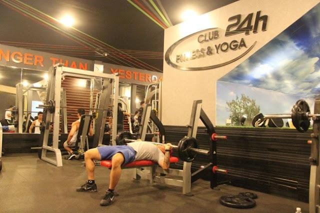 2.Phòng tập gym quận 5 đẳng cấp 5 sao club 24h Fitness & Yoga