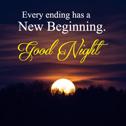 Good Night Hindi English SMS.
