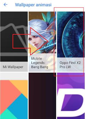 Findx2pro-livewallpaper
