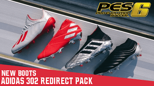 40f90579522 PES 6 Boots Adidas  302 Redirect  Pack 2019