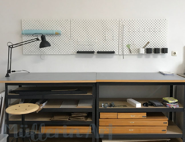 Workshop im Müllerin Art Studio ©muellerinart