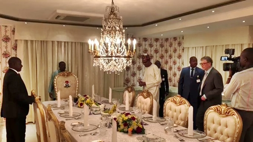 Buhari Hosts Billionaires, Bill Gates & Dangote In Aso Rock