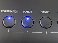 ES520 registration buttons