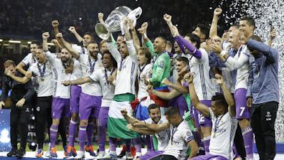 Real Madrid Juara Liga Champion 2017