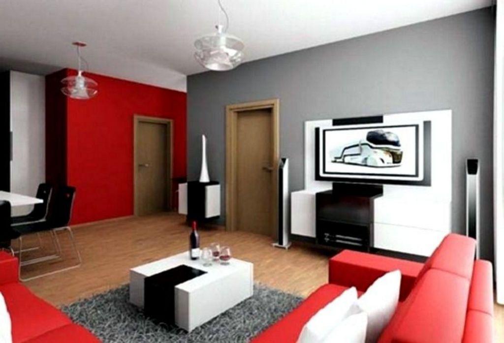 Pemilihan Kombinasi 2 Warna Cat Ruang Keluarga Modern