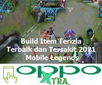 Build Item Terizla Terbaik dan Tersakit 2021 Mobile Legends