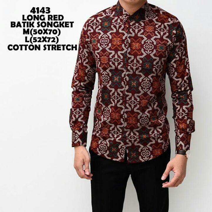 Batik Pria Murah Jogja Jual batik Pria terbaru ala jogja Bj1212