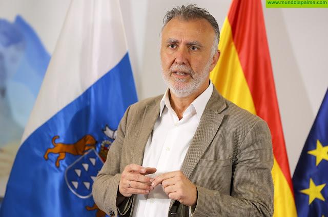 """Ángel Víctor Torres califica de """"valientes"""" las medidas anunciadas por Pedro Sánchez para paliar el impacto económico y social del coronavirus"""