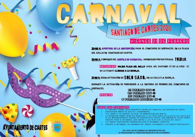 Carnaval en Santiago de Cartes 2020