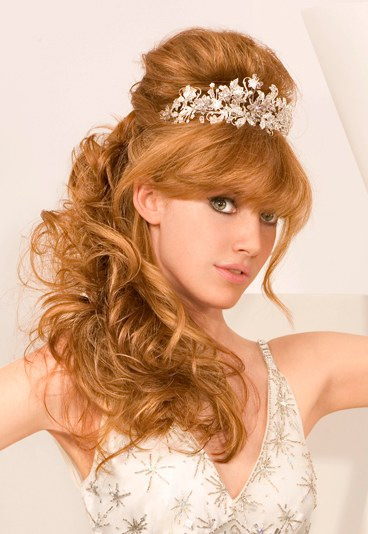 Incredible Wedding Hairstyles Princess Bridal Hairstyles With The Crown Jewels Hairstyles For Women Draintrainus