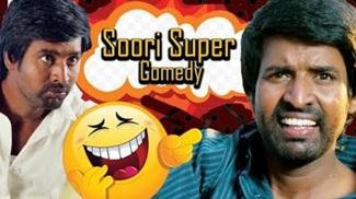 Naiyaandi – Soori Comedy Scene | Dhanush | Nazriya | Ghibran