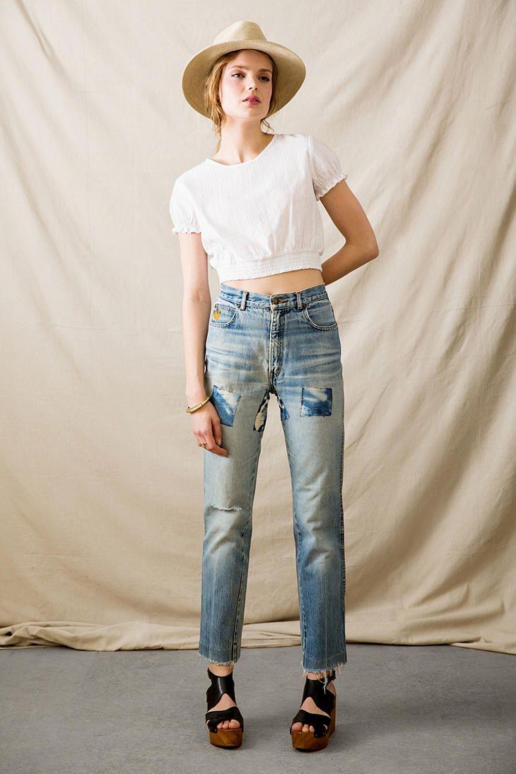 Yüksek Bel Pantolonlar Nasıl Kombinlenir