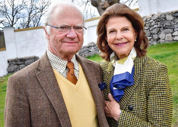 King Carl Gustaf and Queen Silvia are currently isolated at Stenhammar Castle. Crown Princess Victoria, Princess Estelle