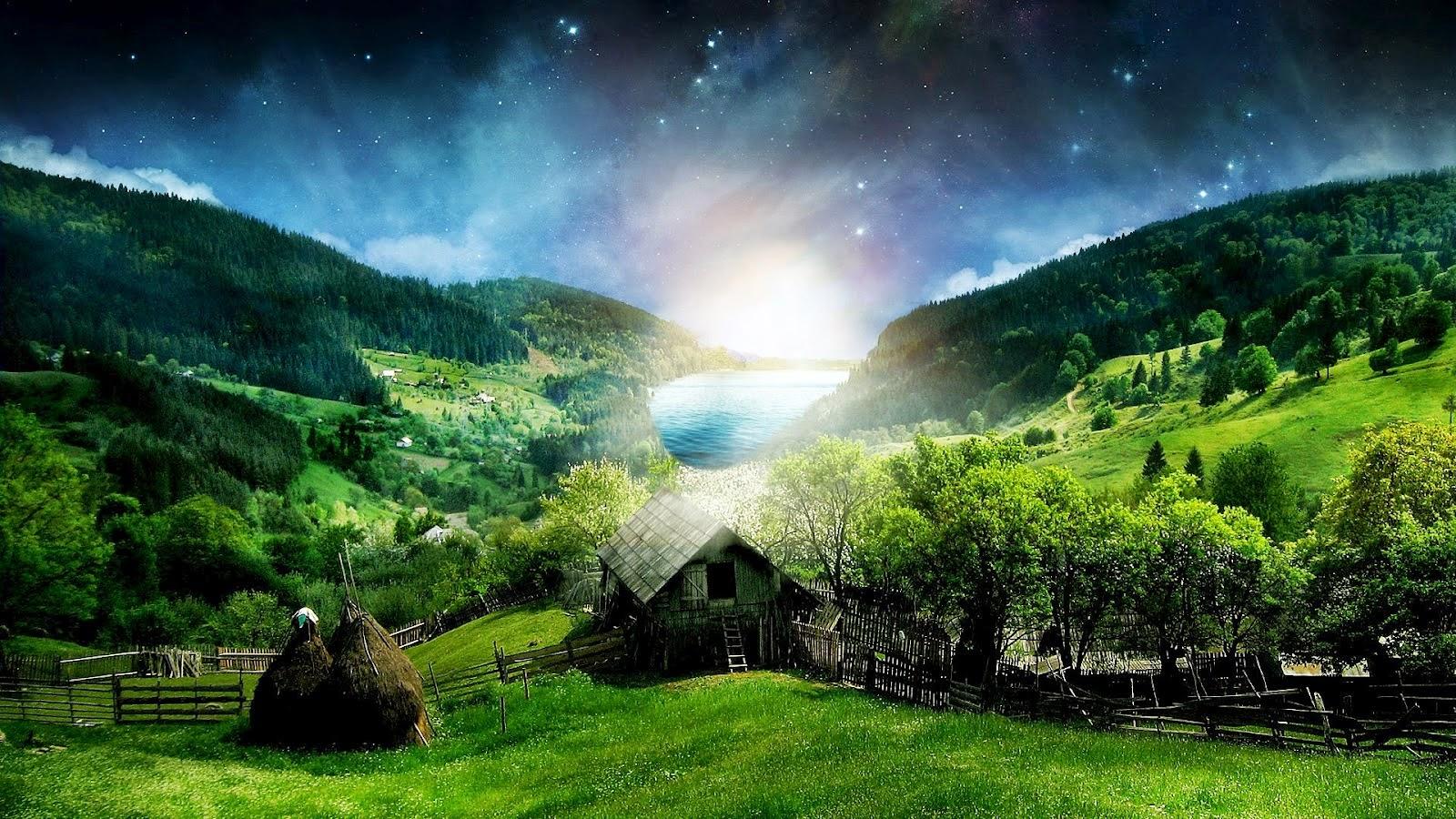 Wallpaper Pemandangan Alam Natural Kualitas HD Untuk Mempercantik