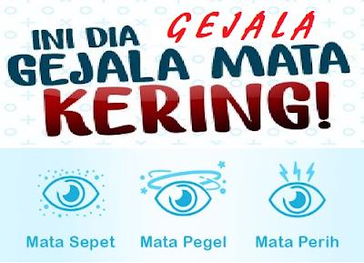 3 Gejala MATA KERING atau dry eyes: mata SEPET, PEGEL, PERIH