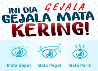 Gejala MATA KERING atau dry eyes: MATA SEPET, MATA PEGEL, MATA PERIH dan MATA LELAH