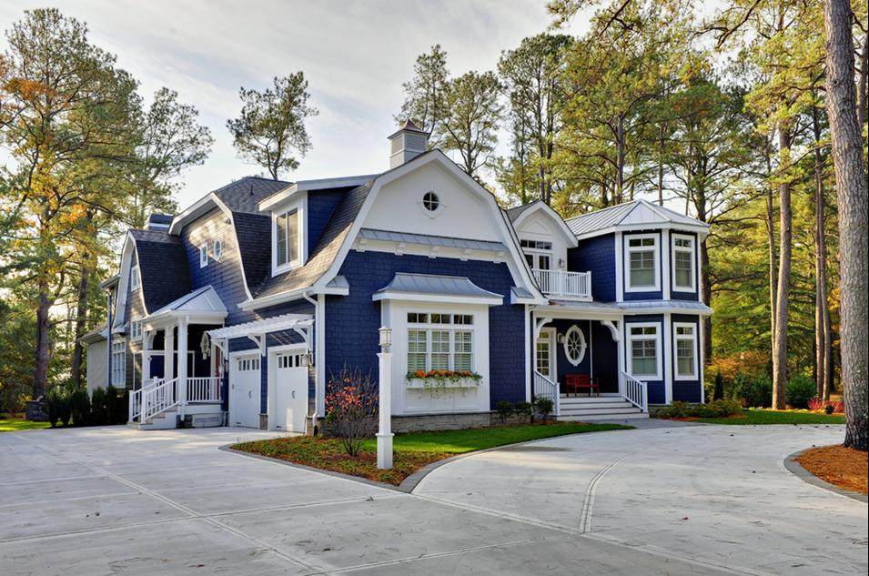 Delorme Designs Gambrel Roofs