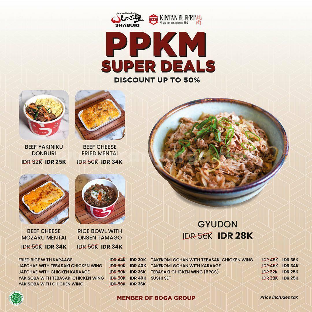 Promo Shaburi & Kintan Buffet PPKM Super Deals - Discount Up to 50%