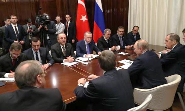 Los líderes mundiales en Berlín en busca de un proceso de paz para Libia