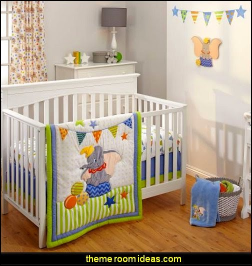 Disney Dumbo 3 Piece Crib Bedding Set,