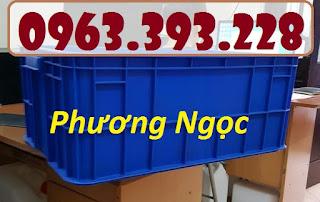 Thùng đặc HS017, thùng nhựa công nghiệp, hộp nhựa có nắp