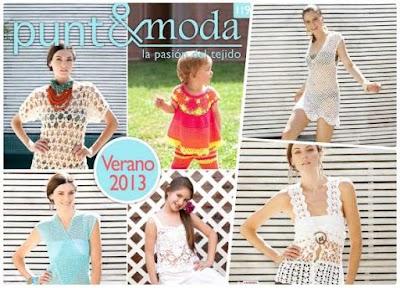 Revista punto-moda número 119 ganchillo-tricot