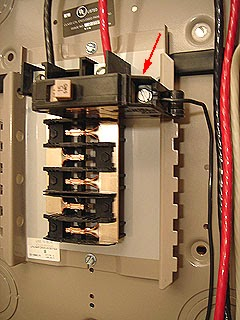 110 Volt Fuse Box Electric Work Adding Sub Panel Installing Amp Wiring The