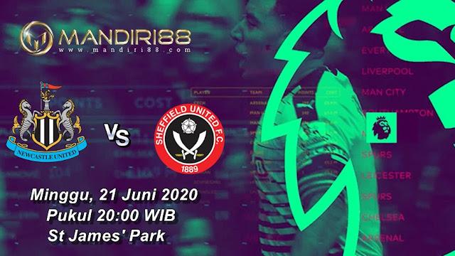 Prediksi Newcastle United Vs Sheffield United, Minggu 21 Juni 2020 Pukul 20.00 WIB @ Mola TV