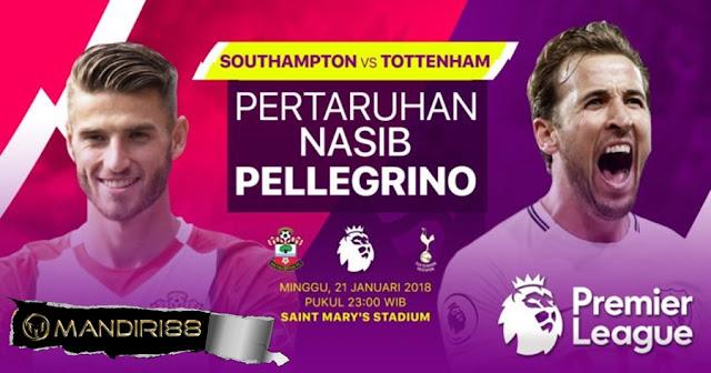 Prediksi Bola Southampton vs Tottenham Hotspur , Minggu 21 January 2018 Pukul 23.00 WIB
