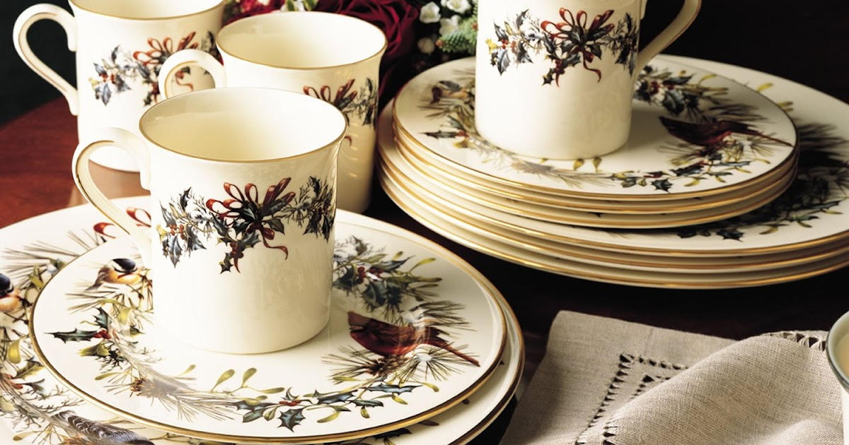 Lenox Holiday Christmas Dinnerware Sets On Sale