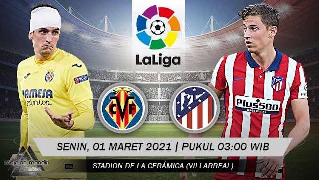 Prediksi Villarreal Vs Atletico Madrid