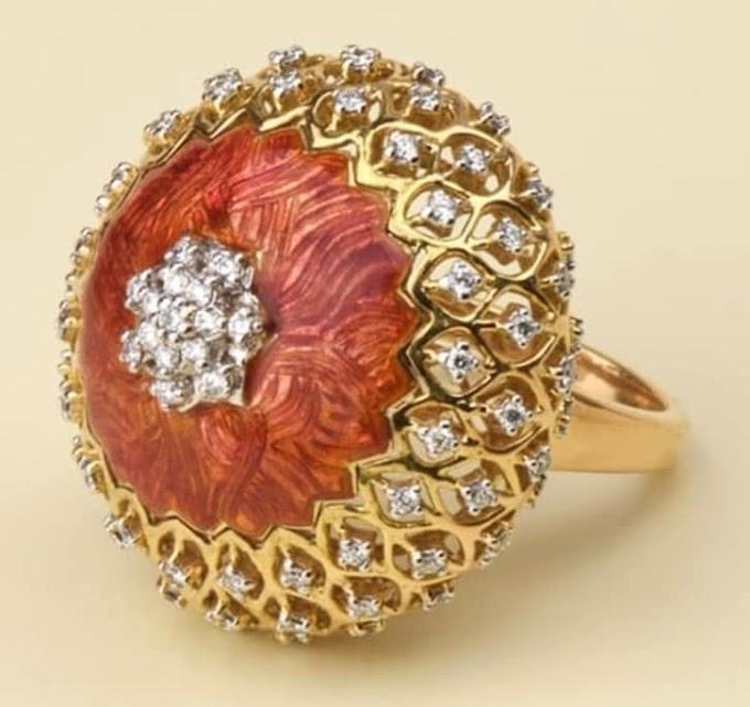 Womens Finger Gold Ring Latest | Fdbnj