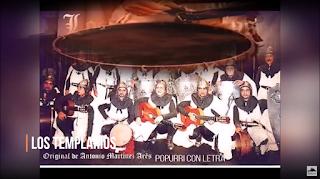 """🏰🏰🏰🏰Popurri con LETRA🖋️ Comparsa """"Los Templarios"""" de Antonio Martínez Ares (1999)🏰"""
