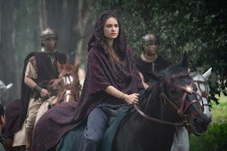 Domina on horseback