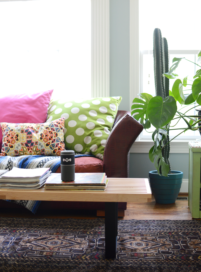 colorful and patternful with pretty plants