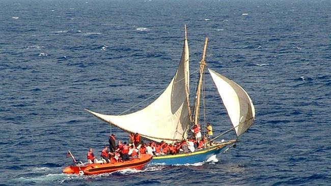 Refugee vessel sinks off Haiti, leaves 40 missing