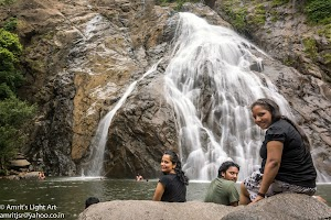 The pool underneath the Dudhsagar Water Falls