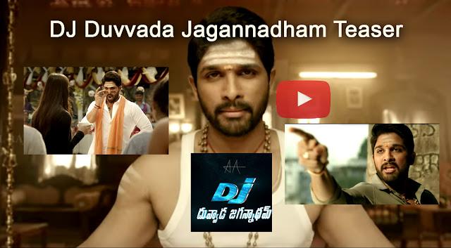 DJ Duvvada Jagannadham Teaser - Allu Arjun, Pooja Hegde | Harish Shankar | Dil Raju