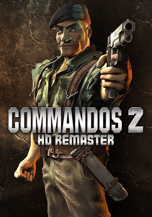 Descargar Commandos 2 HD Remaster PC Cover Caratula