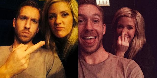 Calvin Harris y Ellie Goulding grabaron una nueva canción