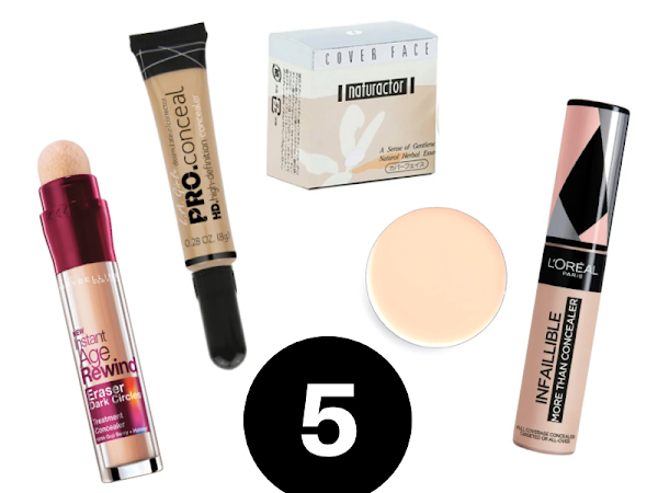 My Top 5 Under Eye Concealers for Dark Circles