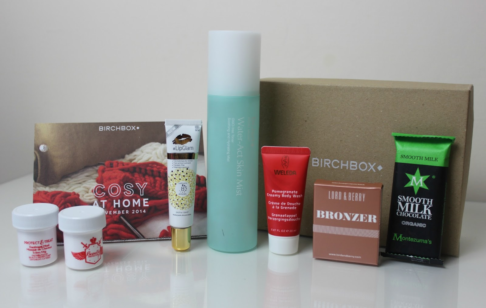 A picture of the Cosy at Home November 2014 Birchbox
