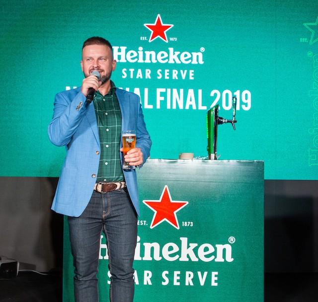 Vasily Baranov, Sales Director of Heineken Malaysia Berhad
